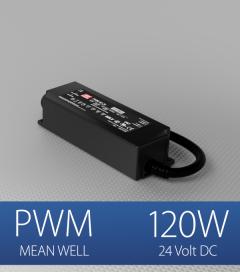 Alimentatore Meanwell PWM-120-24  - 24V - 120W