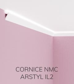 Cornice NMC ARSTYL IL2 in Poliuretano per Illuminazione LED - 2 Metri