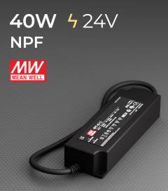 Alimentatore Meanwell NPF-40-24  - 24V - 40W