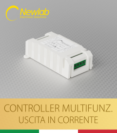Dimmer Newlab L412 - Pulsante, 0-10V, 1-10V, Potenziometro, DMX