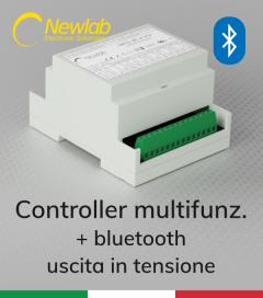 Dimmer Newlab L406MA - Pulsante, 0-10V, 1-10V, Bluetooth, Potenziometro, DALI