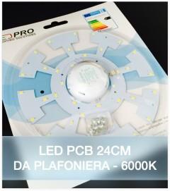 LED per Plafoniera - 24 cm - 18W Colore Bianco Freddo