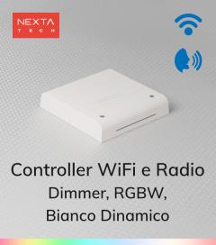 Centralina Multifunzione Nexta Tech Plano-ONE - Pulsante, Wi-Fi, Telecomando, Alexa, Google Home