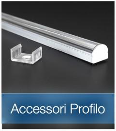 Accessori per Profilo in Alluminio con Collimatore di Luce a 60°