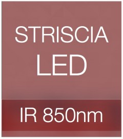 "Striscia LED ""PRO"" - 5 Metri - 72W - INFRAROSSI - 850 nm"