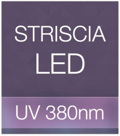 "Striscia LED ""PRO"" - 5 Metri - 72W - UV- 380 nm"