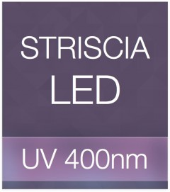 "Striscia LED ""PRO"" - 5 Metri - 72W - UV- 400 nm"