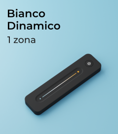 Controller Bianco Dinamico a Telecomando Slide 1 Zona + Centraline