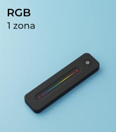 Controller RGB a Telecomando Slide 1 Zona + Centraline
