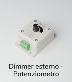Dimmer Esterno per Strisce LED - Potenziometro