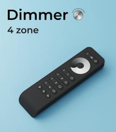 Dimmer a Telecomando a 4 Zone + Centraline