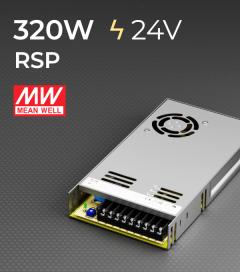 Alimentatore MeanWell RSP-320-24 24V 320W