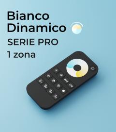 Controller Telecomando Bianco Dinamico PRO a 1 Zona + Centraline