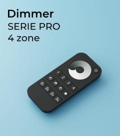 Dimmer a Telecomando PRO a 4 Zone + Centraline