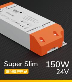 Alimentatore SUPER SLIM SNAPPY SE150-24VL - 150W - 24V