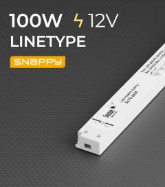 Alimentatore ULTRA SLIM SNAPPY LINETYPE SDL150-24VF - 100W - 24V