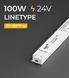 Alimentatore ULTRA SLIM SNAPPY LINETYPE SL100-24VF - 100W - 24V