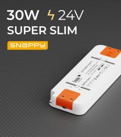 Alimentatore SUPER SLIM SNAPPY SNP30-24VF-3 - 30W - 24V