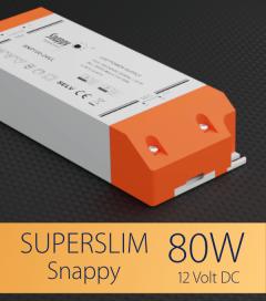 Alimentatore SUPER SLIM SNAPPY SNP100-12VL-E - 80W - 12V