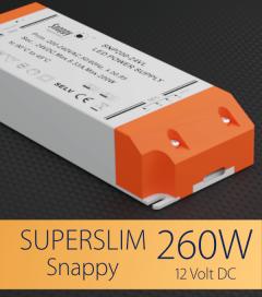 Alimentatore SUPER SLIM SNAPPY SNP320-12VL- 260W -12V