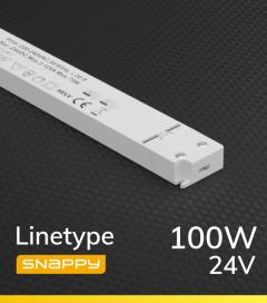 Alimentatore ULTRA SLIM SNAPPY LINETYPE SNP100-24VF-1 - 100W - 24V