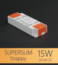 Alimentatore SUPER SLIM SNAPPY SNP15-24VF-1 - 15W - 24V
