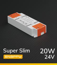 Alimentatore SUPER SLIM SNAPPY SNP20-24VF-E - 20W - 24V