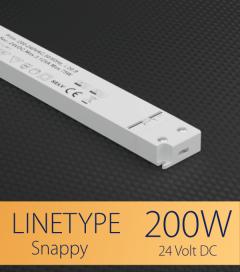 Alimentatore ULTRA SLIM SNAPPY LINETYPE SNP200-24VF-1 - 200W - 24V