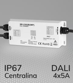 Centralina DALI 4 Canali x 5A - Waterproof IP67