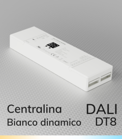 Centralina DALI DT8 CCT - 4 Canali x 5A - Bianco Dinamico