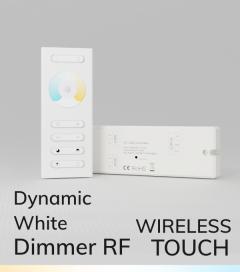 Controller Bianco Dinamico Touch con Telecomando + Centralina 10A