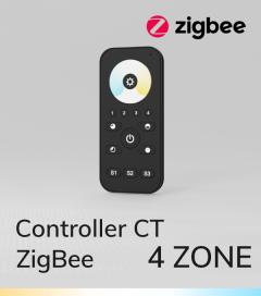 Controller CT con Telecomando - 4 Zone - Versione Zigbee - SNR-ZG2819S-CCT