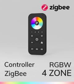 Controller RGB con Telecomando - 4 Zone - Versione Zigbee - SNR-ZG2819S