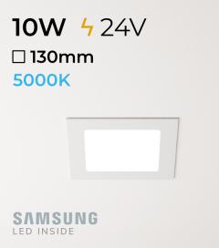 Faretto da Incasso Quadrato Slim 10W BIANCO FREDDO - Downlight - LED Samsung