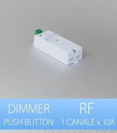 Centralina Ricevente 1 Canale x 10A - Per Telecomando e Push-Button