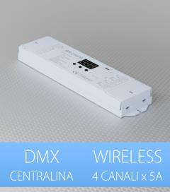 Centralina DMX 4 CANALI x 5A