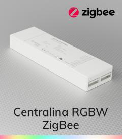 Centralina Ricevente Zigbee 4 Canali x 5A - SNR-ZG9101FA-RGBW per strisce LED RGBW