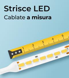 """Striscia LED 24V personalizzata """"al centimetro"""""""