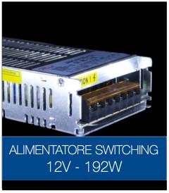 Alimentatore Switching 12V 192W DC STABILIZZATO