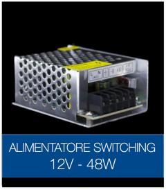 Alimentatore Switching 12V 48W DC STABILIZZATO