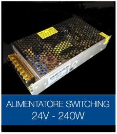 Alimentatore Switching 24V 240W Stabilizzato