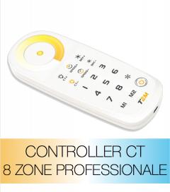 Controller Bianco Dinamico - Telecomando Professionale 8 Zone
