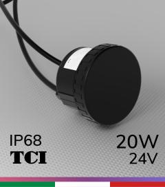 Alimentatore TCI DC T-TU IP68 24V 20W impermeabile IP68