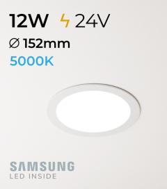 Faretto da Incasso Rotondo Slim 12W BIANCO FREDDO - Downlight - LED Samsung