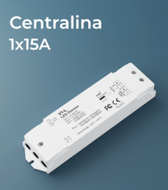 Centralina 1 canale x 15A - RF e Push Button