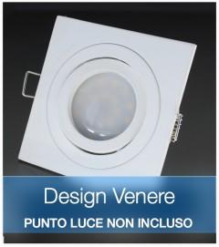 Corpo Faretto Bianco DESIGN VENERE