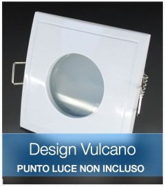 Corpo Faretto Bianco DESIGN VULCANO