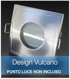 Corpo Faretto  Satinato DESIGN VULCANO