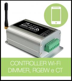 Controller Multifunzione Wi-FI per Smartphone + Centralina T3CV