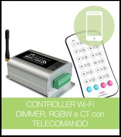 Controller Multifunzione Wi-FI per Smartphone con Telecomando M12 + Centralina R4-5A